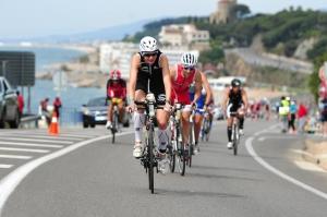 Foto aufgenommen beim Ironman 70.3 Barcelona 2013, Bildrecht gekauft bei Marathon-photos.com